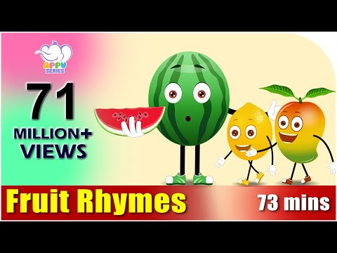 Fruit Rhymes - Best Collection of Rhymes for Children in English