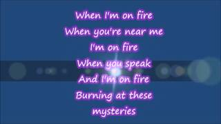 On Fire Lyrics - Switchfoot HD