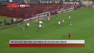 Tin Thể Thao 24h Hôm Nay (19h - 08/10): Kết Quả Lượt Trận Vòng Loại World Cup 2018 Khu Vực Châu Âu