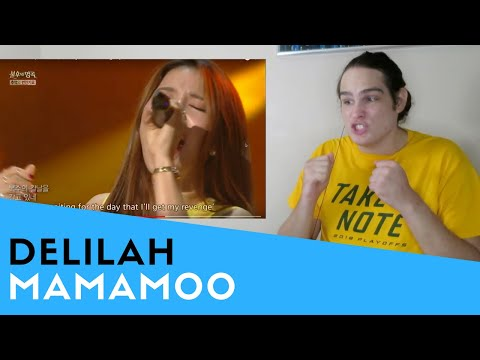 Voice Teacher Reacts to MAMAMOO - Delilah [Immortal Songs 2]