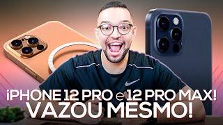 VAZOU MESMO! iPHONE 12 PRO e 12 PRO MAX! (e NÃO terão mais o CARREGADOR na caixa) | câmera de 16mp!