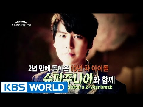 Global Request Show : A Song For You 3 - Ep.14 with Super Junior
