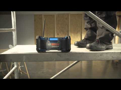 video Bosch GML Soundboxx 14.4-18V