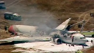 Boeing 777 plane from Seoul crashes on landing at San Francisco airport - no comment