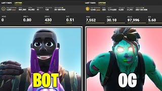 I EXPOSED My Random Duos Stats in Fortnite ... (he lied)