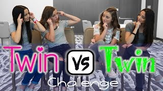 Twin vs Twin Challenge | ft. the MerrellTwins