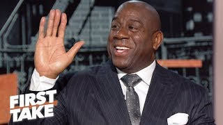 I'd love to buy the Lakers – Magic Johnson | First Take