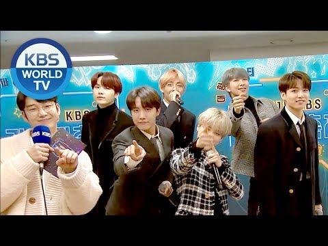 BTS interview! [2018 KBS Song Festival/ENG/CHN/2018.12.28]
