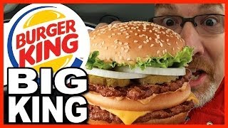 Burger King - BK Big King Sandwich - FIRST PERSON IN CANADA TO TRY IT!