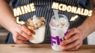Making The McDonalds McFlurry At Home | But Better