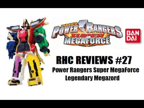 RHC Reviews #27 - Power Rangers Super MegaForce Legendary Megazord
