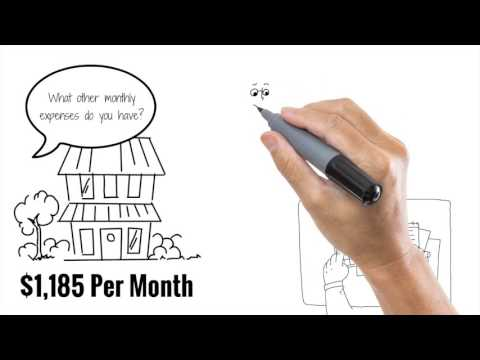 Mortgage Vs Life Insurance - White Board