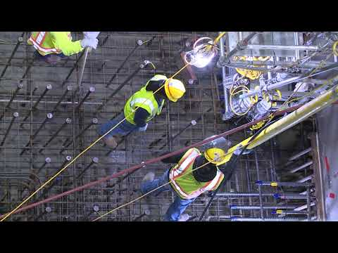Significant progress continues at Georgia Power's Vogtle nuclear expansion site with the placement of nearly 1,300 cubic yards of concrete inside the Unit 4 containment vessel.