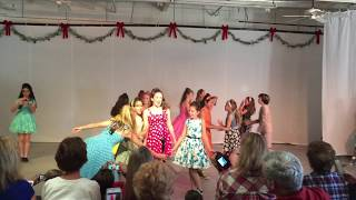 Musical Theater Troupe Performing Group Hairspray Nicest Kids in Town 2016