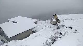Heavy Snowfall in Auli, Uttarakhand-India
