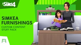 SIMKEA Furnishings Stuff Pack | The Sims 4 Custom Content Overview