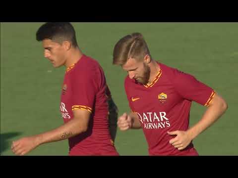 VIDEO - Roma-Trastevere 10-1, tutti i gol e gli highlights dell'amichevole