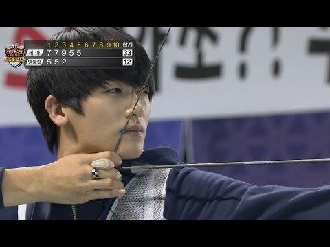 【TVPP】ZE:A - M Archery Fianl [1/3], 제국의아이들 - 남자 양궁 결승 [1/3] @ 2013 Idol Championships