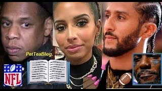 Colin Kaepernick Girlfriend DRAGS Jay-Z for 3 Days & Dez Bryant over NFL + Clears the Air