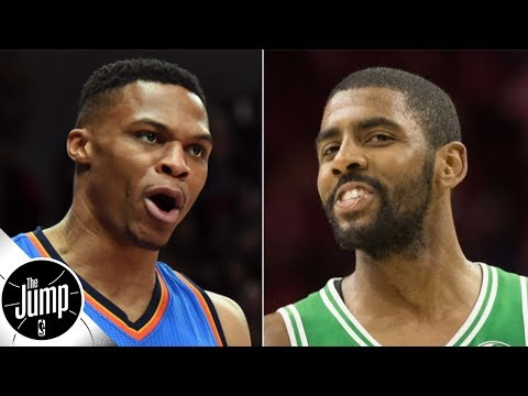 Kyrie Irving is rated higher than Russell Westbrook in ESPN's #NBArank | The Jump