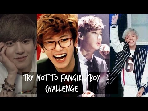[Chanyeol Version] Try not to fangirl/boy challenge