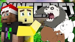 3 CHÚ GẤU NỔI GIẬN (Minecraft Thành Phố Phim Hoạt Hình)