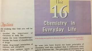 Ch 16 Chemistry In Everyday Life Class 12 Ncert with summary (reading only)