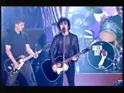 Green Day - Give Me Novacaine [Live @ TOTp's 2005]