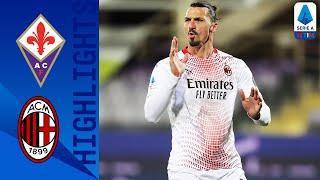Fiorentina 2-3 Milan | Ibrahimovic Scores His 15th Goal This Season In 5-Goal THRILLER | Serie A TIM