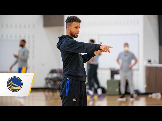 找回手感了?Curry今連進105球三分