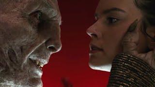 Snoke vs Rey and Kylo Ren epic scene | Star Wars: The Last Jedi