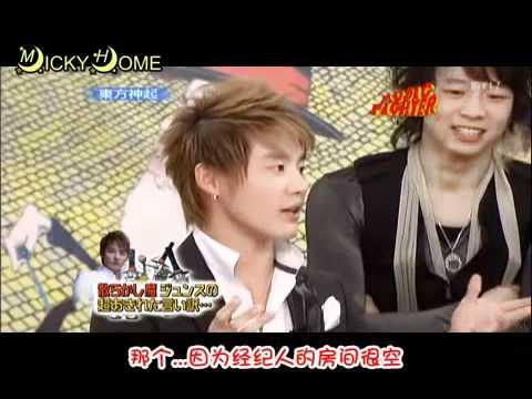 TVXQ- MUSIC FIGHTER Talk cut (Chinese sub.)