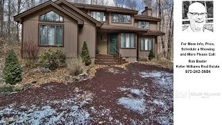 111 Timber Crest CT, Pocono Pines, PA Presented by Rob Baxter.