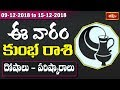 Aquarius Weekly Horoscope By Dr Sankaramanchi Ramakrishna Sastry | 09 Dec 2018 - 15 Dec 2018