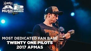 APMAs 2017 Most Dedicated Fan Base: TWENTY ONE PILOTS