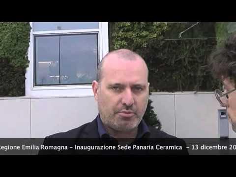 Panaria Ceramica - Inaugurazione - Commento di Stefano Bonaccini