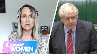 The Loose Women React to Boris Johnson's New Covid Restrictions | Loose Women