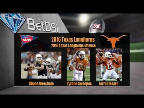 2016 NCAA Betting | Texas Longhorns Team Preview and Odds