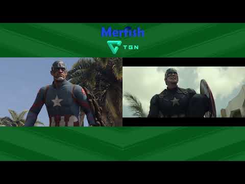 Captain America: Civil War Trailer Recreated in GTA V [Side by Side Comparison]