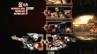 Mortal Kombat 9 - Smoke (Arcade Ladder) [Expert] No Matches Lost