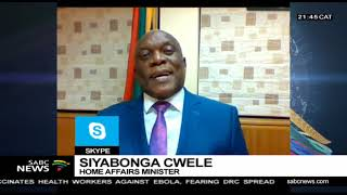 Relaxation of some travel requirements for children: Siyabongwa Cwele