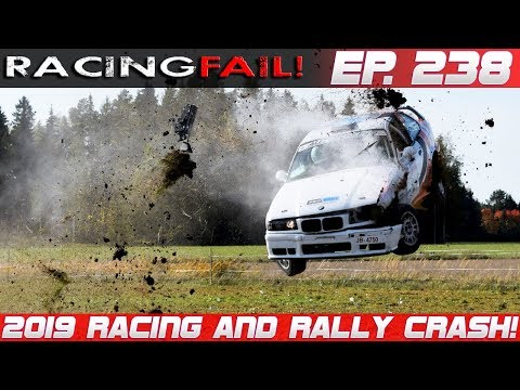 Racing and Rally Crash Compilation