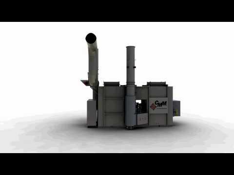 Regenerativ-Thermische Nachverbrennung (RNV-Anlage)