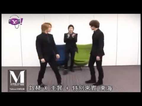[110517] Eunhyuk, Kyuhyun & Donghae - Dance Tutorial Perfection