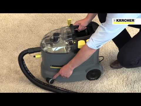 Karcher Spray Extraction Carpet and Upholstery Cleaner Puzzi 8/1C