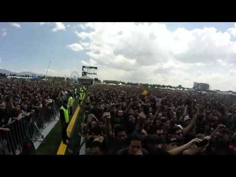 The Black Dahlia Murder - What A Horrible Night To Have A Curse @Knotfest México 2016