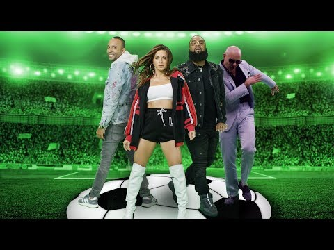 "Premiering tonight - Arash, Nyusha, Pitbull & Blanco - ""Goalie Goalie"" Official video by Farbod Koshtinat"