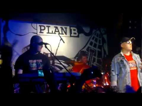 Красная Плесень - Блядь PLAN B 18.02.2012 г.концерт