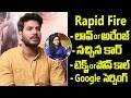 Rapid Fire With Sundeep Kishan- Interview with anchor Ramya