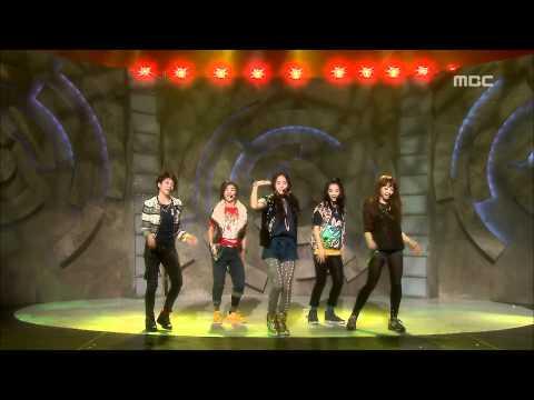 F(X) - Chu~♡, 에프엑스 - 츄~♡, Music Core 20091107